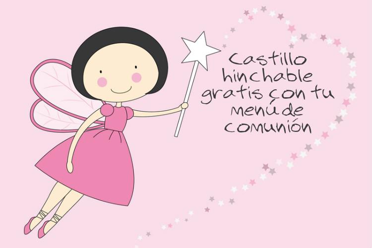 la dehesa comuniones 2017 castillo hinchable gratis