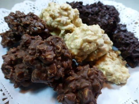 crujientes de chocolate y almendra