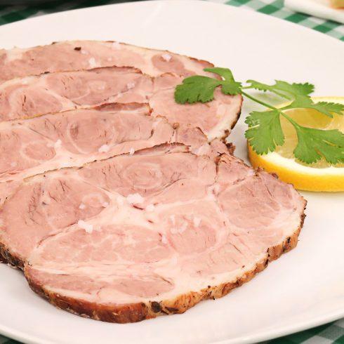 carne mechada del restaurante la dehesa