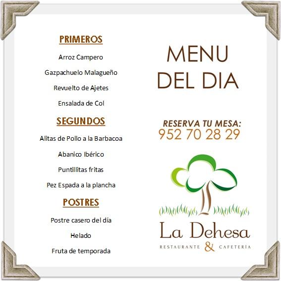la dehesa-menu-27-09-16